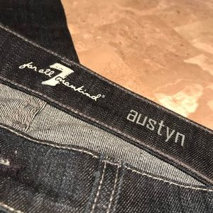 7 For All Mankind Jeans - 7FAM Austyn Relaxed Straight Fit Jeans